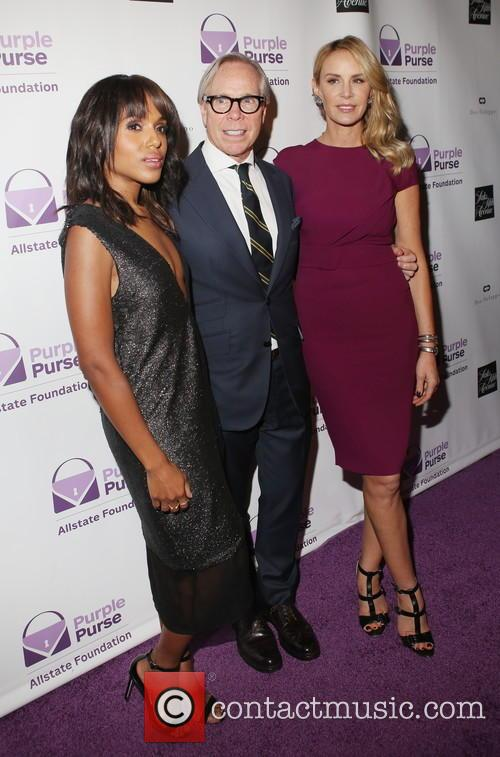 Kerry Washington, Tommy Hilfiger and Dee Ocleppo 1