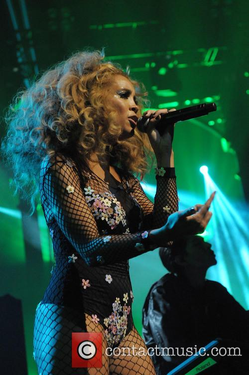 Lion Babe performs at the Apple Music Festival