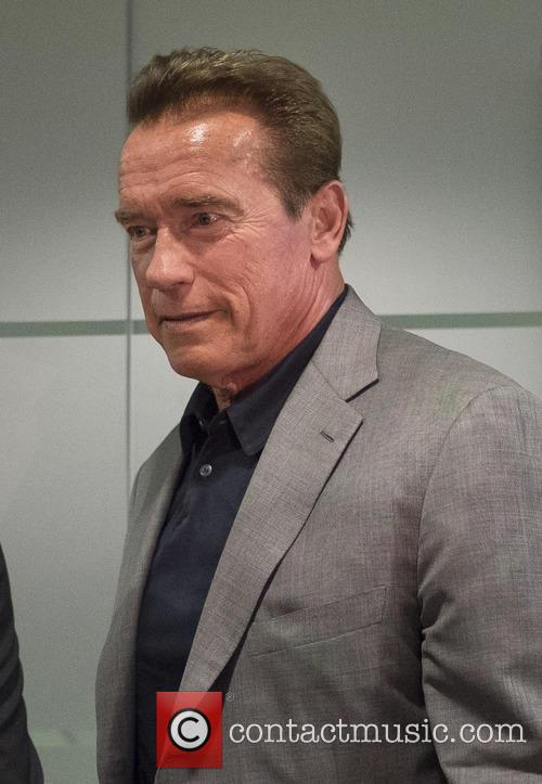 Arnold Schwarzenegger attends the Arnold Classic Europe 2015...