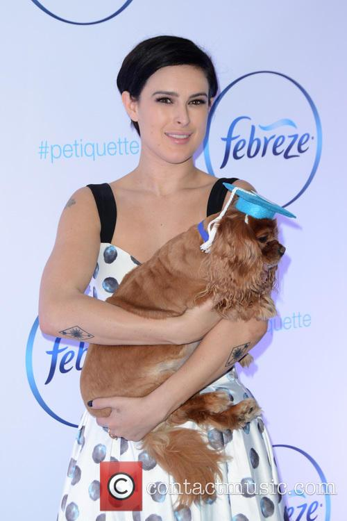 Rumer Willis and Toast 2