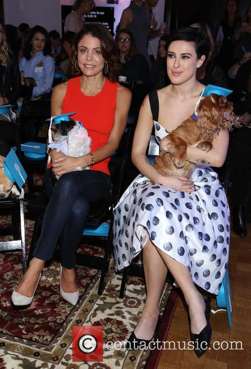 Bethenny Frankel, Tinkerbelle, Rumer Willis and Toast 2