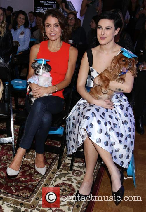 Bethenny Frankel, Tinkerbelle, Rumer Willis and Toast 1