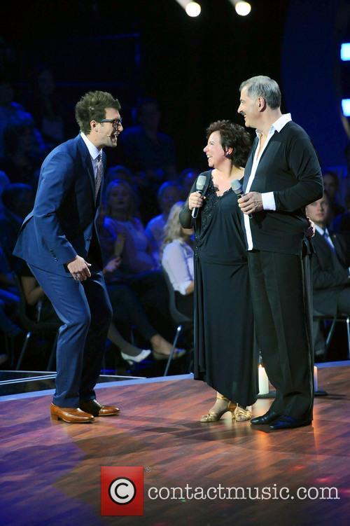 Daniel Hartwich, Anja Rauh and Bruno Rauh 1