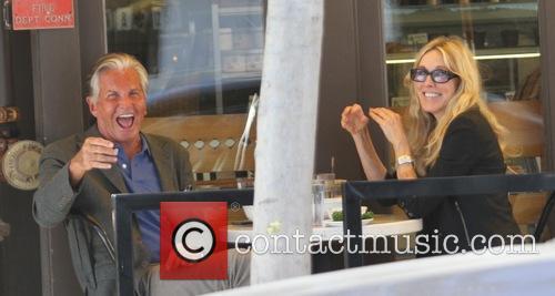 George Hamilton and Alana Stewart 5