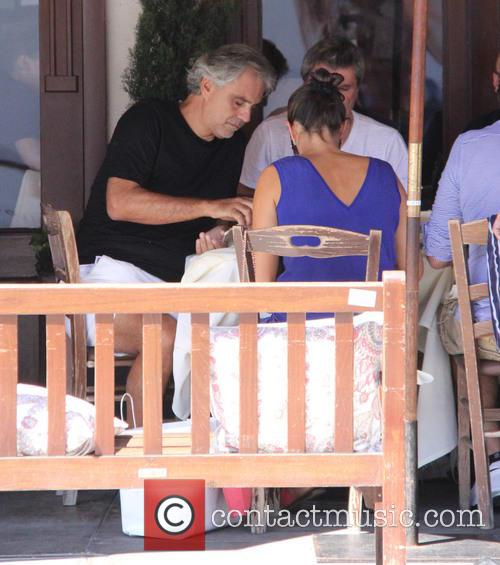Andrea Bocelli and Veronica Berti 2