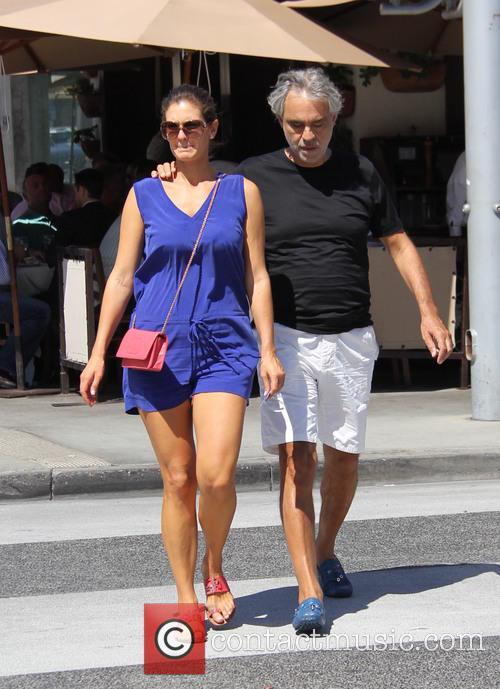 Andrea Bocelli and Veronica Berti 7