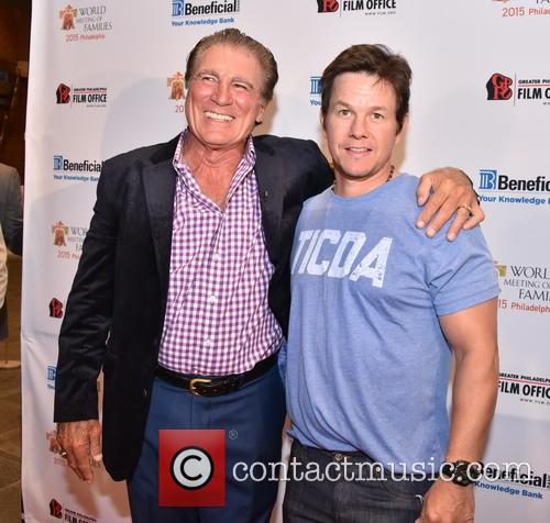 Vince Papale and Mark Wahlberg 2