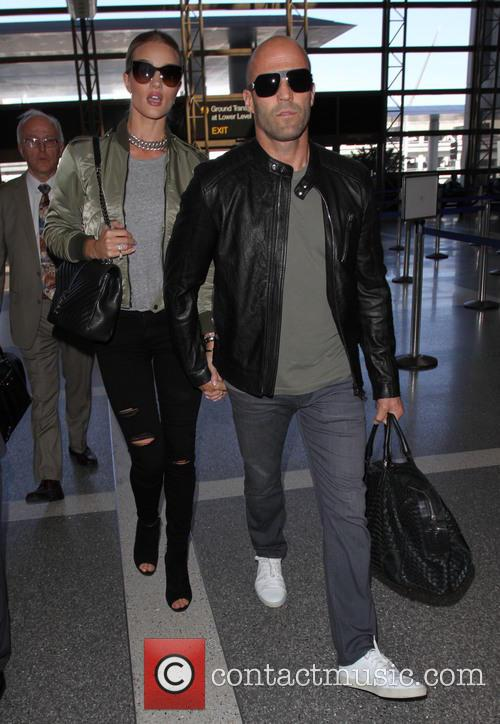 Rosie Huntington-whiteley and Jason Statham 5