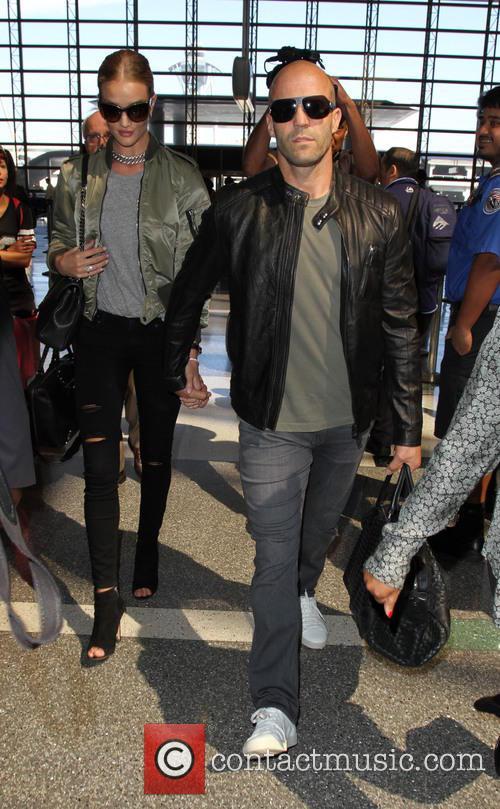 Rosie Huntington-whiteley and Jason Statham 6