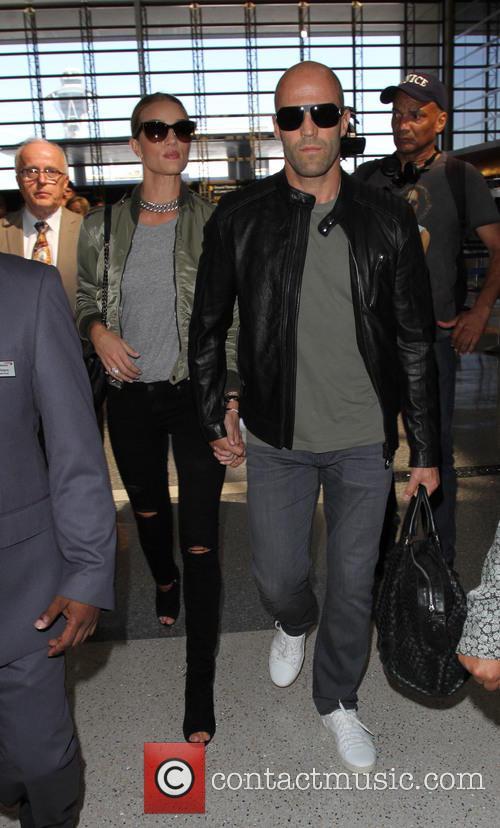 Rosie Huntington-whiteley and Jason Statham 7