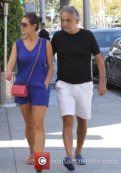 Andrea Bocelli and Veronica Berti 7