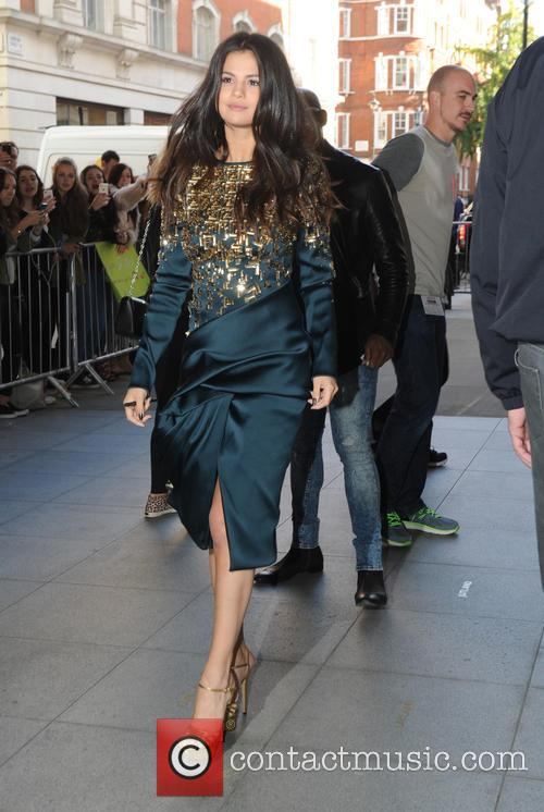 Selena Gomez at the BBC Radio 1 studios