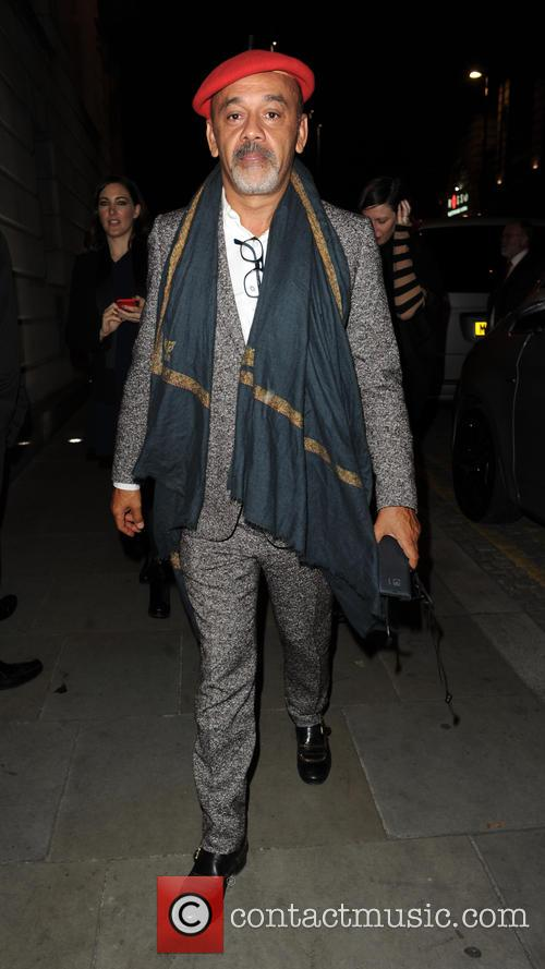 Christian Louboutin at Australasia restaurant in Manchester