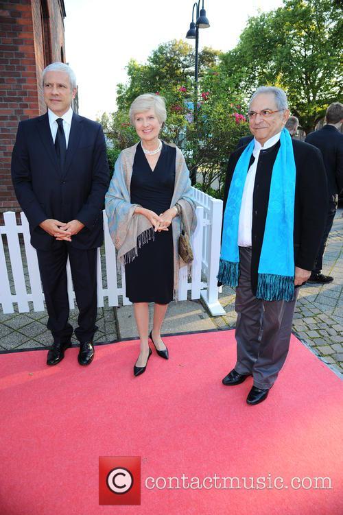 Boris Tadic, Friede Springer and Jose Ramos Horta 2