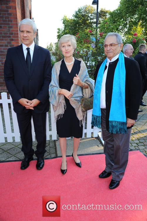Boris Tadic, Friede Springer and Jose Ramos Horta 1