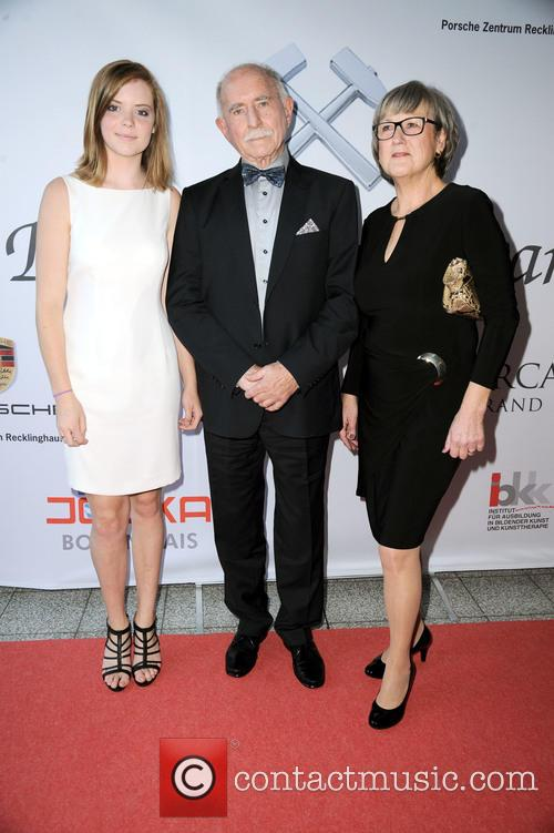 Granddaughter Ana, Werner Hansch and His Wife 2