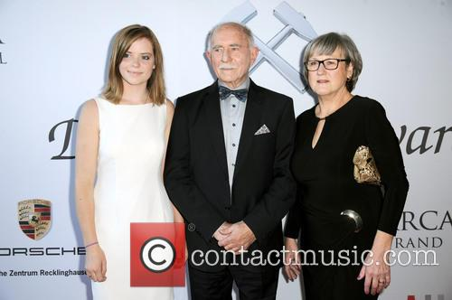 Granddaughter Ana, Werner Hansch and His Wife 1