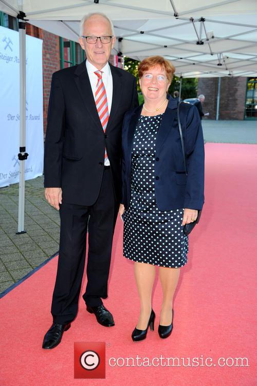 Prof. Dr. Juergen Ruettgers and Angelika Ruettgers 2