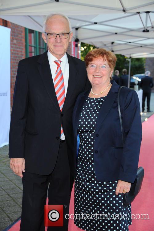 Prof. Dr. Juergen Ruettgers and Angelika Ruettgers 1