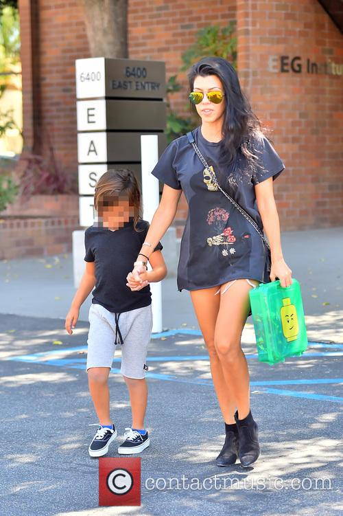 Kourtney Kardashian and Mason Dash Disick 5