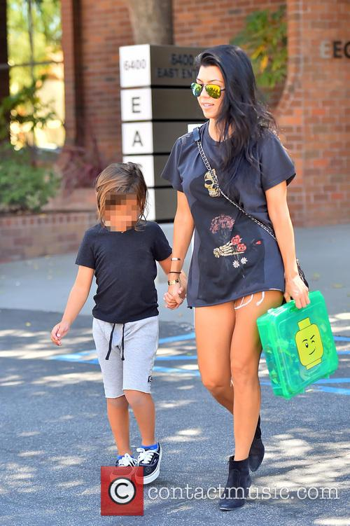 Kourtney Kardashian and Mason Dash Disick 6