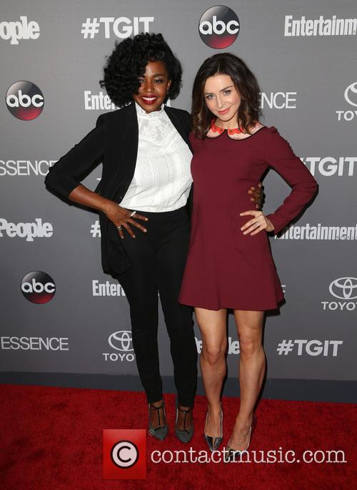 Jerrika Hinton and Caterina Scorsone 4