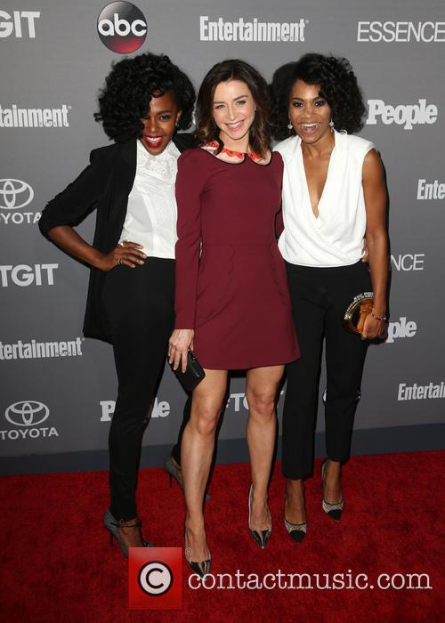 Jerrika Hinton, Caterina Scorsone and Kelly Mccreary 4