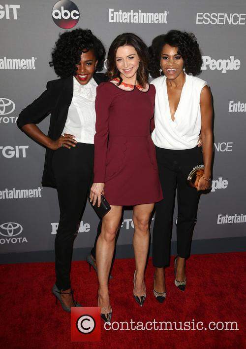 Jerrika Hinton, Caterina Scorsone and Kelly Mccreary 5