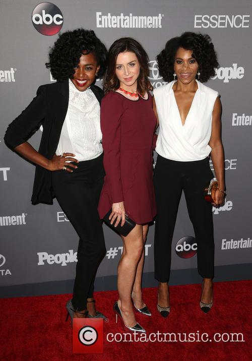 Jerrika Hinton, Caterina Scorsone and Kelly Mccreary 1