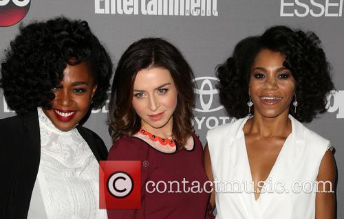 Jerrika Hinton, Caterina Scorsone and Kelly Mccreary 7