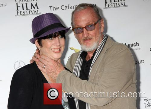 Diane Warren and Robert Englund