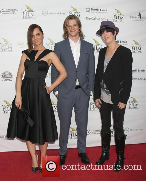 Mena Suvari, Lucas Till and Diane Warren 1