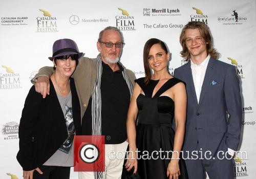 Diane Warren, Robert Englund, Mena Suvari and Lucas Till 1