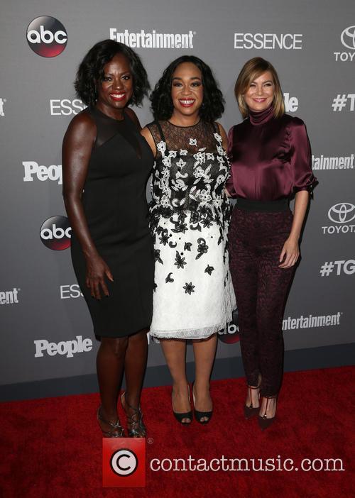Viola Davis, Shonda Rhimes and Ellen Pompeo 2
