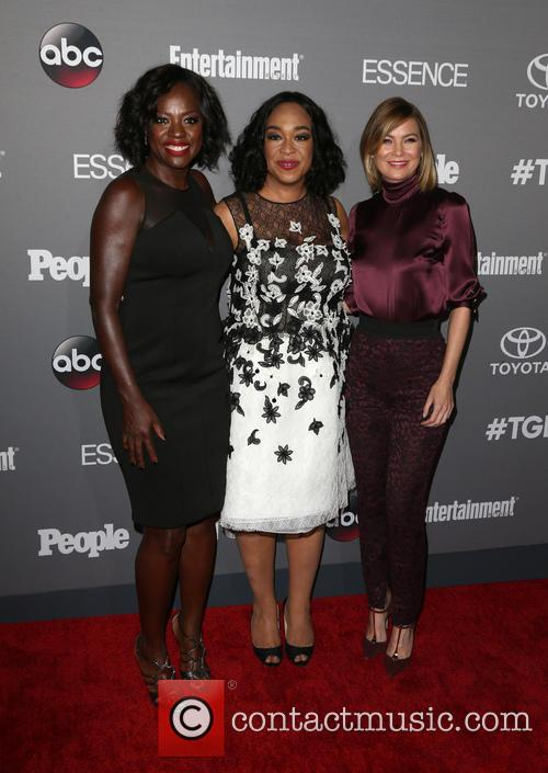 Viola Davis, Shonda Rhimes and Ellen Pompeo 3