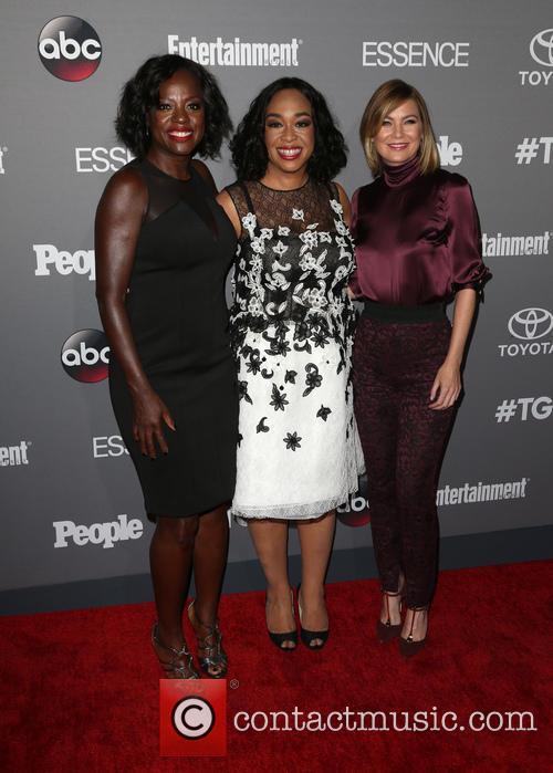 Viola Davis, Shonda Rhimes and Ellen Pompeo 4