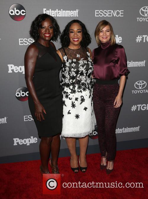 Viola Davis, Shonda Rhimes and Ellen Pompeo 5