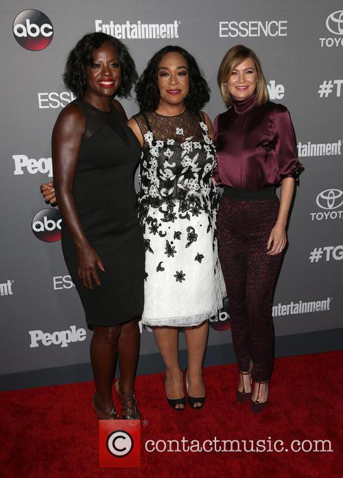 Viola Davis, Shonda Rhimes and Ellen Pompeo 6