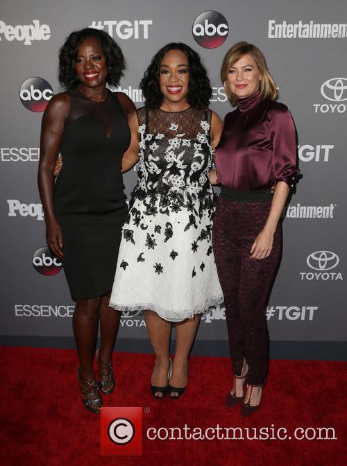 Viola Davis, Shonda Rhimes and Ellen Pompeo 7