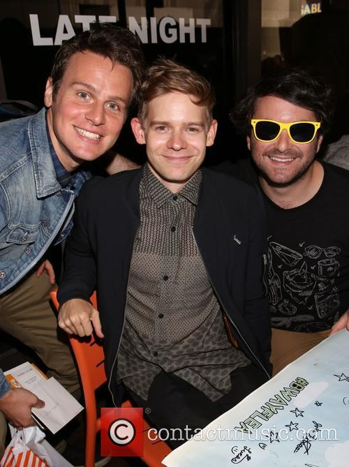 Jonathan Groff, Andrew Keenan-bolger and Alex Brightman 1