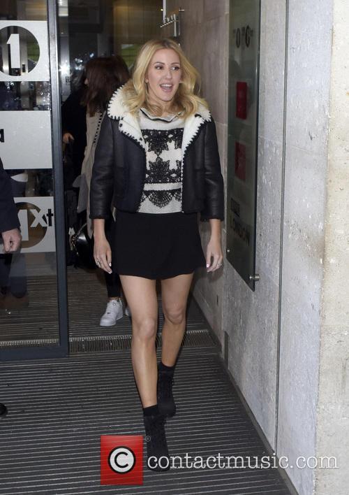 Ellie Goulding leaving BBC
