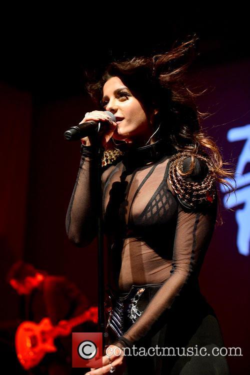 BeBe Rexha performing live in concert