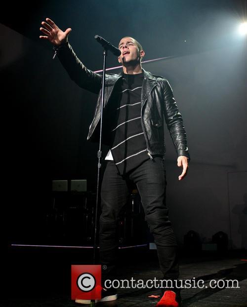 Nick Jonas performs live in concert