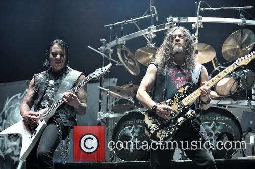 Queensryche, Michael Wilton and Parker Lundgren 2