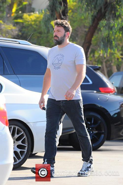 Ben Affleck takes his family to the Farmers...