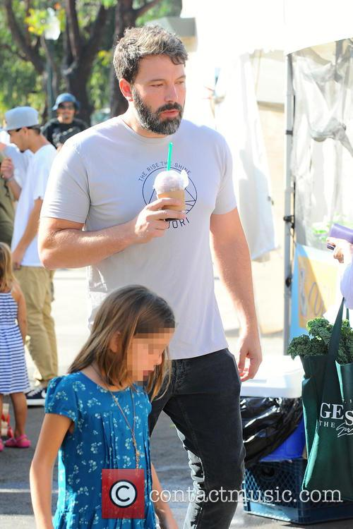 Ben Affleck and Seraphina Rose Affleck 2