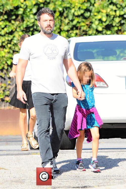 Ben Affleck and Seraphina Rose Affleck 1