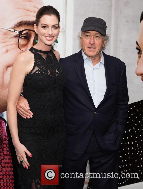 Anne Hathaway and Robert De Niro 1