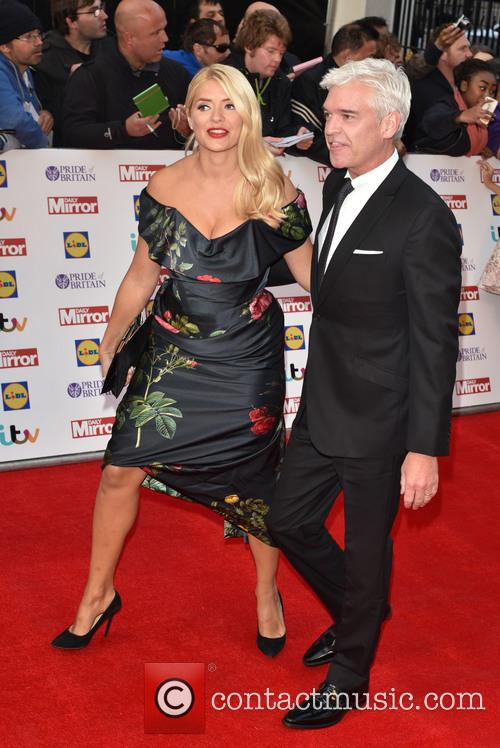 Holly Willoughby and Paul Schofield 2