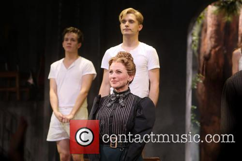 Austin Mckenzie, Andy Mientus and Marlee Matlin 2